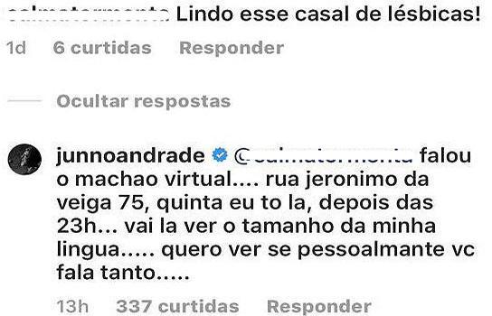 Namorado de Xuxa se irrita e rebate internauta com resposta atravessada