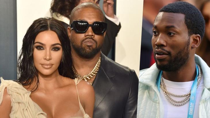 Kim Kardashian, Kanye West e Meek Mill