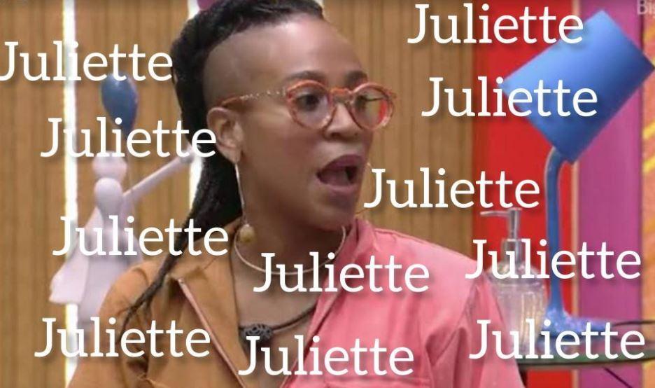 Meme de Karol Conká sobre Juliette