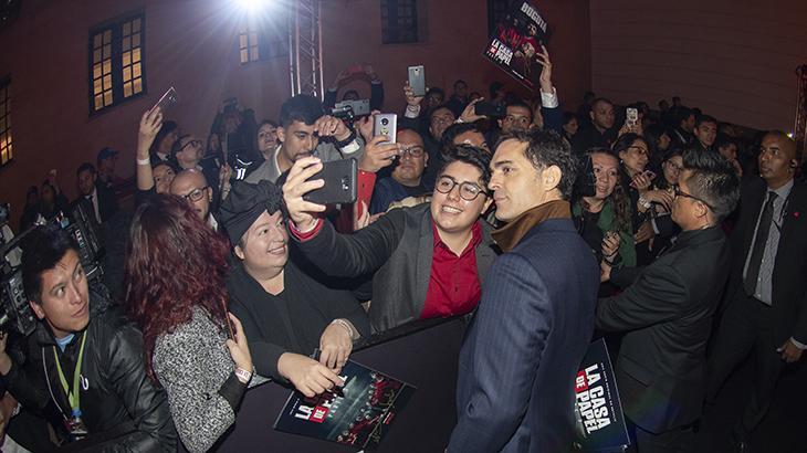 "\""La Casa de Papel 3\"" tem première na Colômbia com atores e surpresa para os fãs"