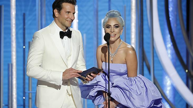"\""Bohemian Rhapsody\"" frustra fãs de Lady Gaga e surpreende no Globo de Ouro"