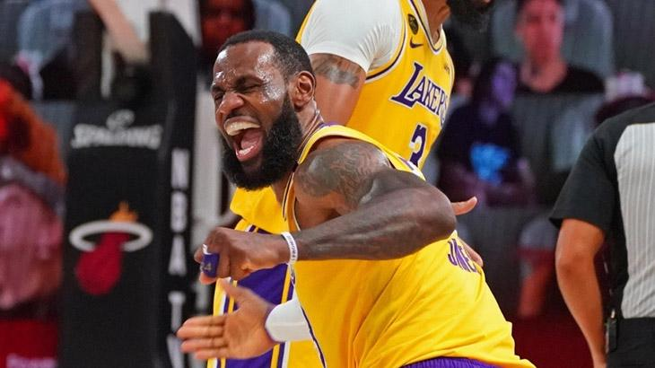 LeBron James, astro do Los Angeles Lakers