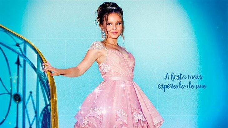 Larissa Manoela no cartaz do filme Meus Quinze Anos