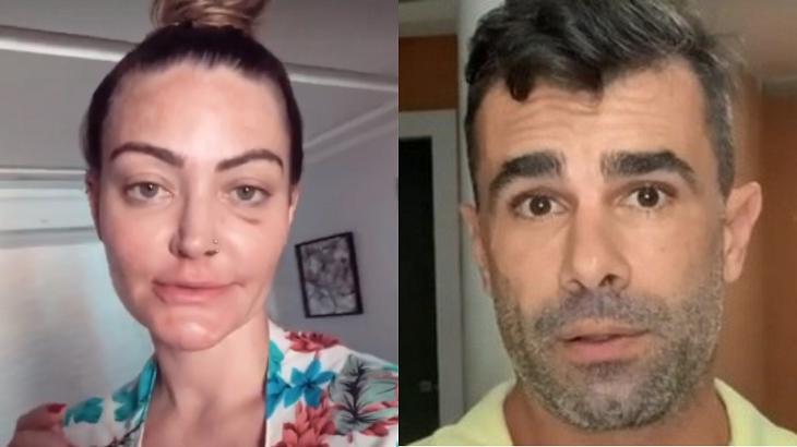 Laura Keller comenta relação com Jorge Sousa