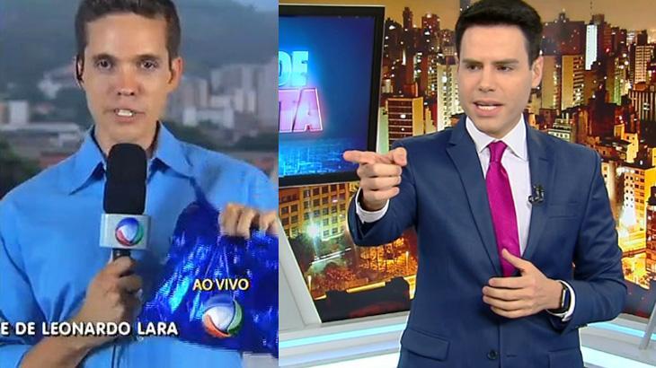 """Amigo de Luiz Bacci, novo repórter do \""""Cidade Alerta\"""" gera ciumeira na Record TV"""
