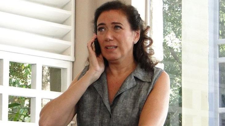 Lilia Cabral compartilhou indignação com fim do romance de Griselda e René em entrevista ao Altas Horas