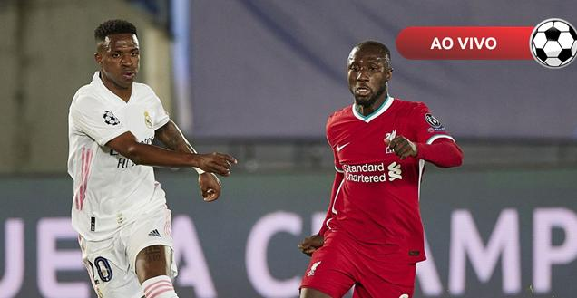 Liverpool x Real Madrid