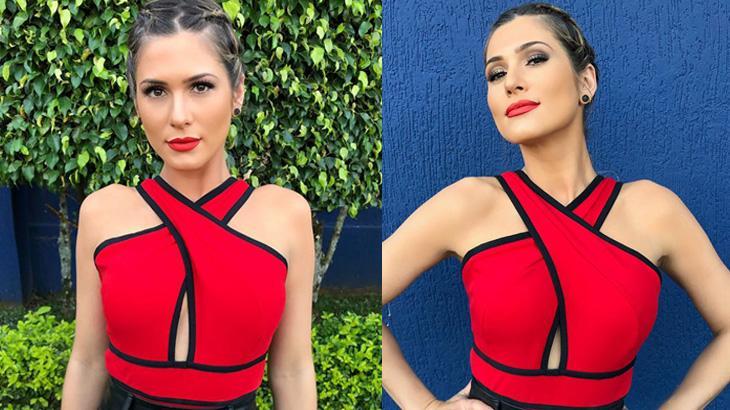 Lívia Andrade diz que figurino semelhante ao de Clara foi coincidência