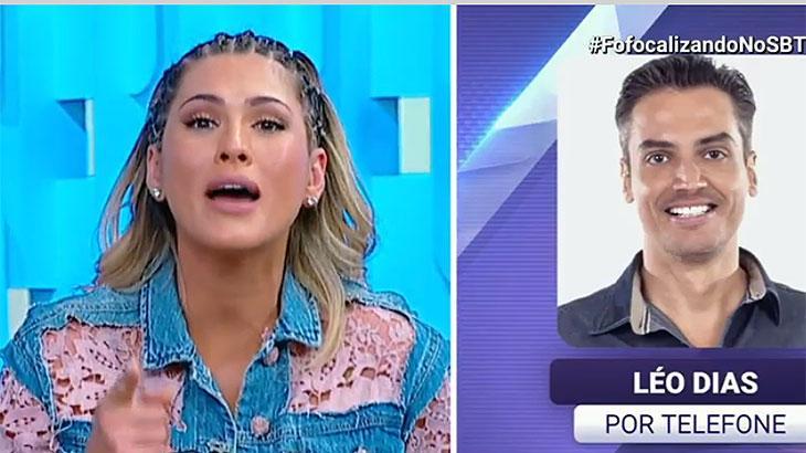 """Lívia Andrade responde Antonia Fontenelle ao vivo: \""""fui ao inferno e voltei sem me queimar\"""""""
