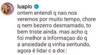"""Luana Piovani alfineta mãe de Pedro Scooby: \""""Abre mão dos netos\"""""""