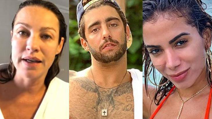 Luana Piovani, Pedro Scooby e Anitta