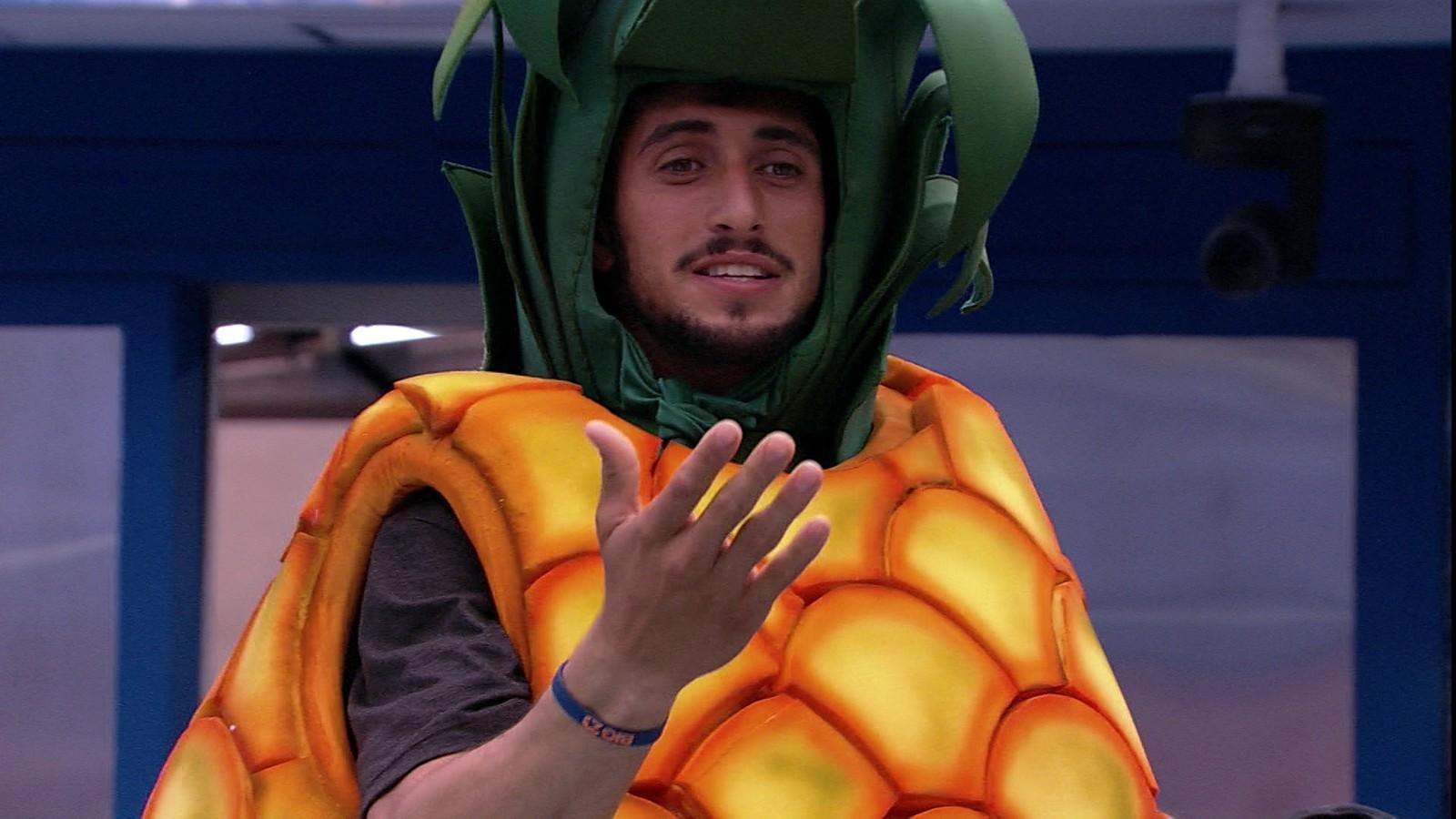 Surfista foi o primeiro eliminado do reality show
