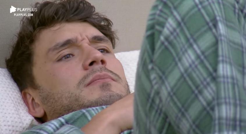 Lucas Viana fez relato sobre vida pessoal no reality show A Fazenda 2019