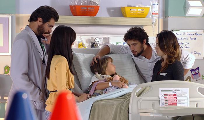 A Vida da Gente: Doença da filha força o inesperado entre Manu e Ana