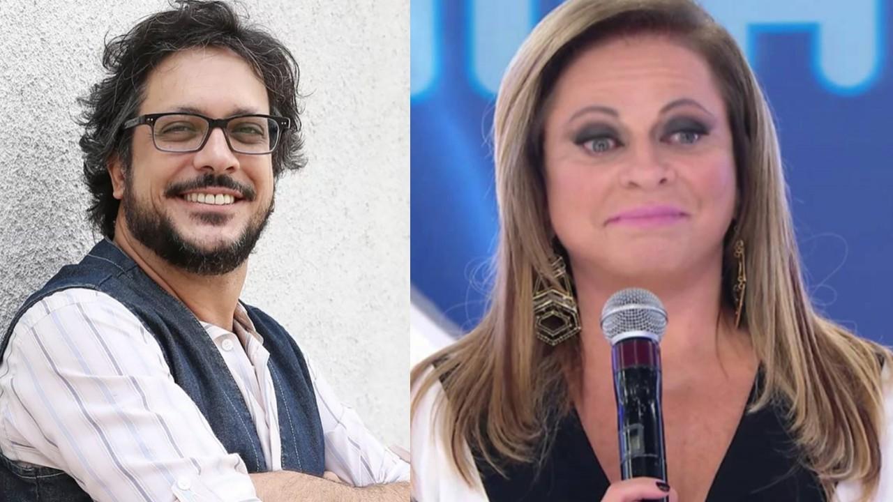 Lúcio Mauro Filho e Christina Rocha