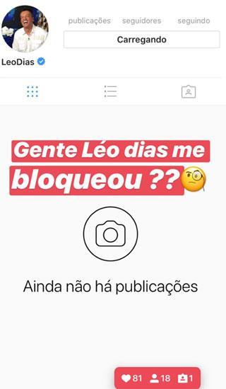 desativado instagram
