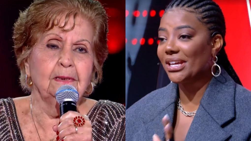 Miracy de Barros deu resposta saidinha a Ludmilla no The Voice +
