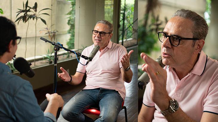 "\""Eu fiquei mal e tenso\"", conta Luis Roberto sobre substituir Galvão Bueno na Globo"