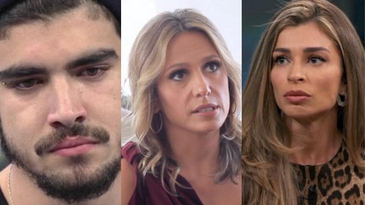 Luísa Mell, Caio Castro e Grazi Massafera