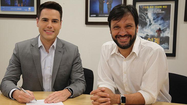 Luiz Bacci renova com a Record TV