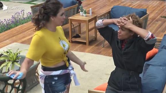 Luiza Ambiel e Lidi Lisboa conversam nesta manhã
