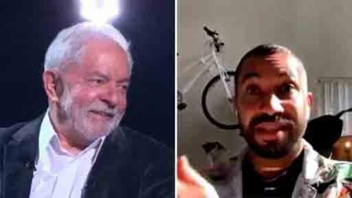 Lula olhando para Gil do Vigor