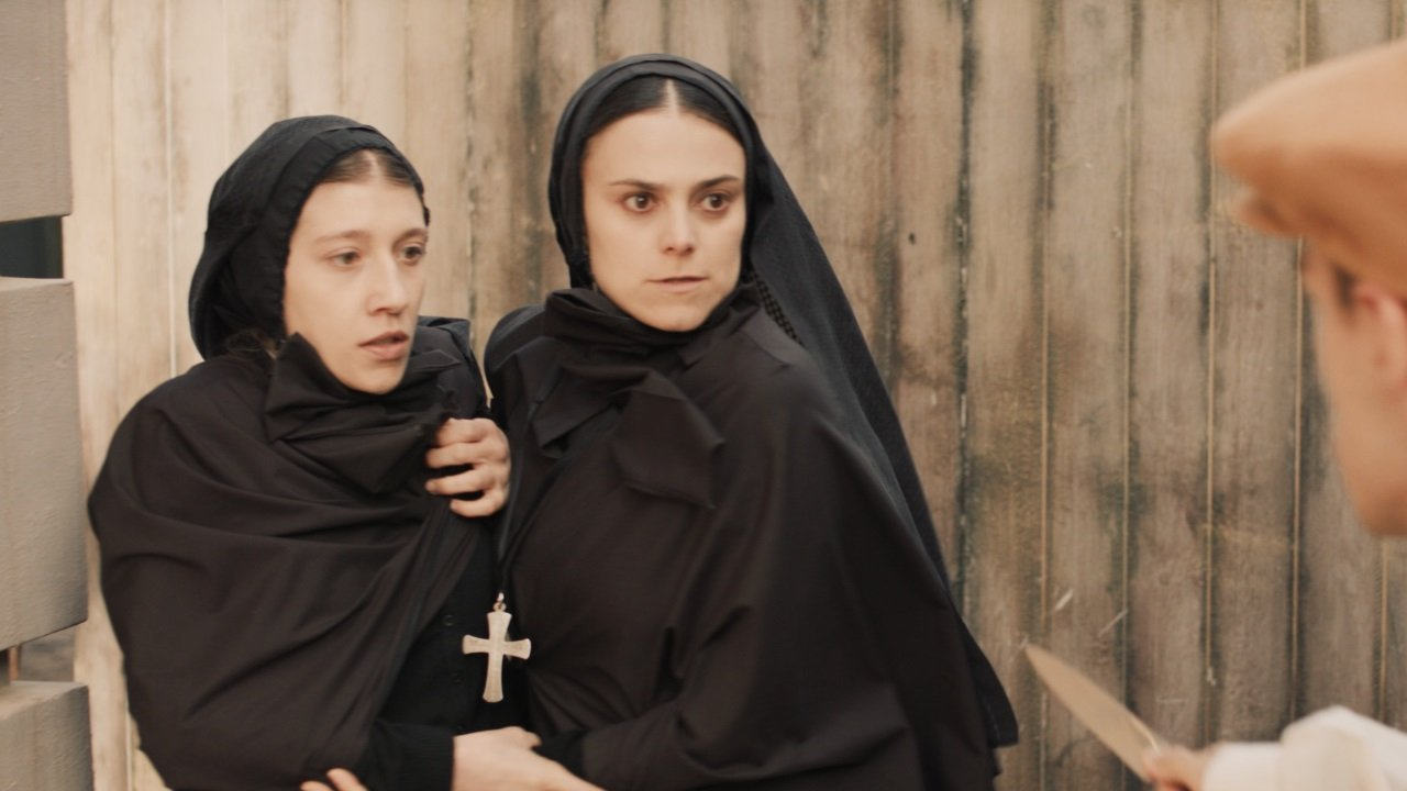 Cena do filme italiano Madre Cabrini