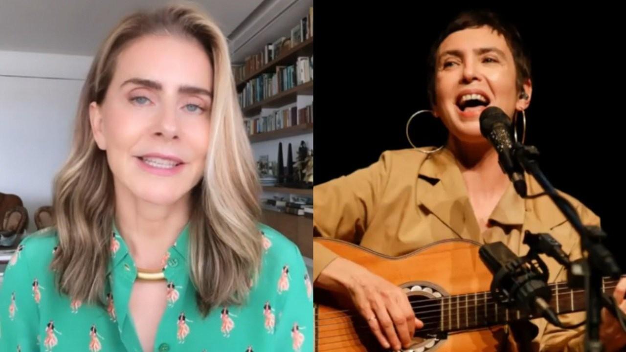 Maitê Proença e Adriana Calcanhotto