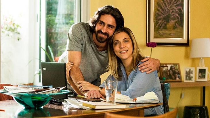 Felipe Abib e Júlia Rabello