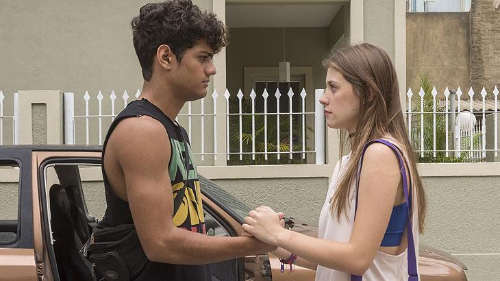 Anjinha e Cléber se reconciliam