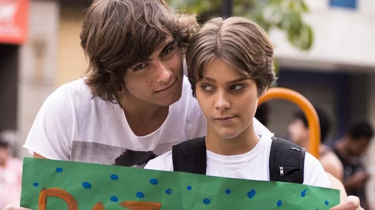 Isabella Santoni e Rafael Vitti em Malhação