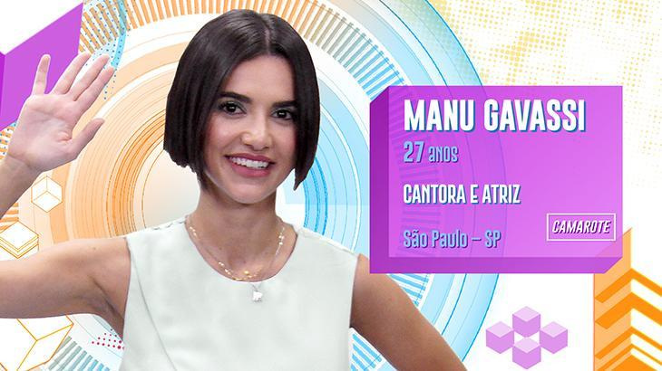 """Bruna Marquezine vibra com Manu Gavassi no BBB20: \""""Trate de ganhar\"""""""