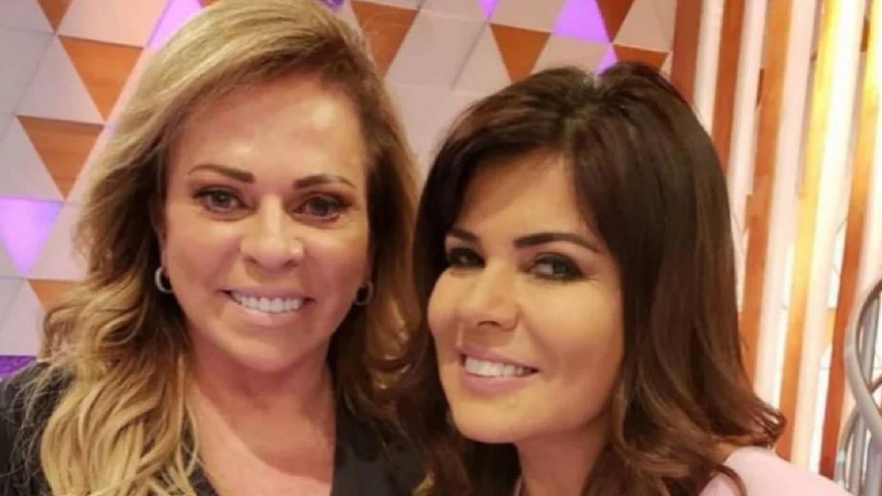Mara Maravilha e Christina Rocha