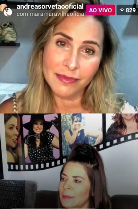 """Mara Maravilha diz que nunca imitou Xuxa: \""""Me contento em ser a plebeia\"""""""