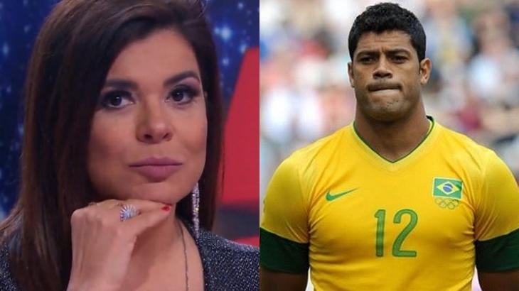 A apresentadora Mara Maravilha e o jogador Hulk Paraíba