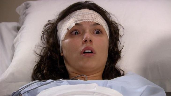 Isis Valverde como Marcela em cena da novela Ti Ti Ti, em reprise na Globo
