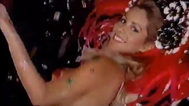 Nos anos 90, loiras se destacavam nas vinhetas de Carnaval da Manchete