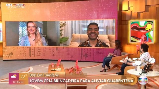 Marcela Mc Gowan no Encontro com Fátima Bernardes