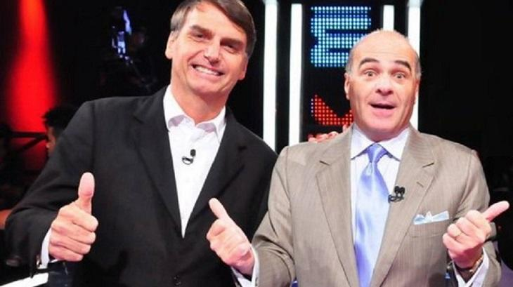 Marcelo de Carvalho e Jair Bolsonaro