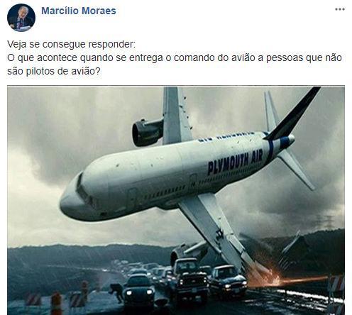 Autor Marcílio Moraes manda indireta que chega à Record TV, em crise na dramaturgia