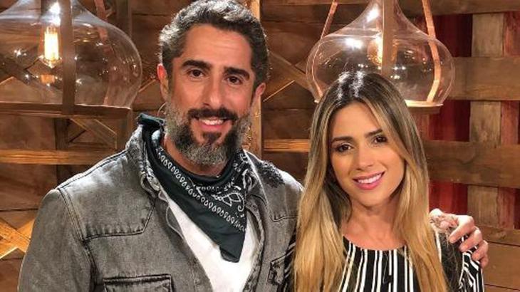 Marcos Mion e Nadja Pessoa