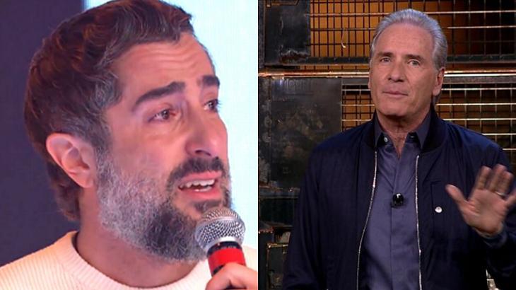 Marcos Mion e Roberto Justus