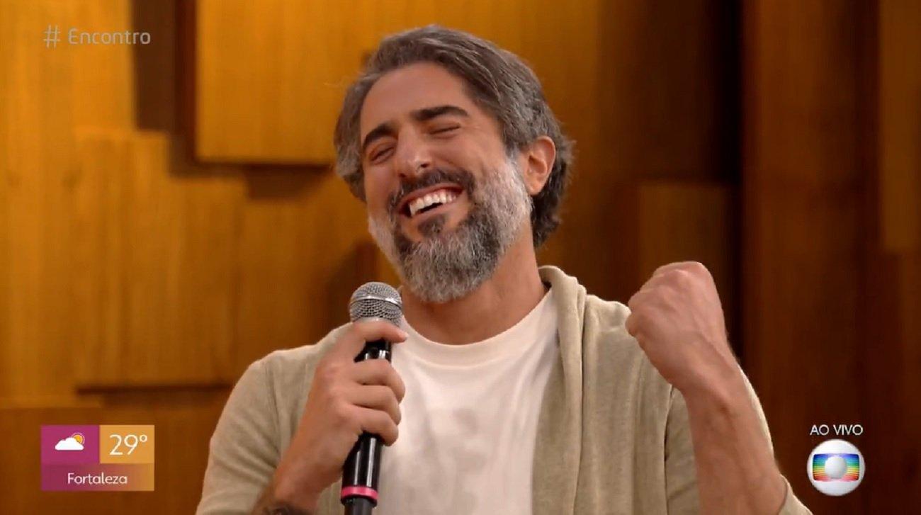 Marcos Mion comemora contratação da Globo no Encontro com Fátima Bernardes