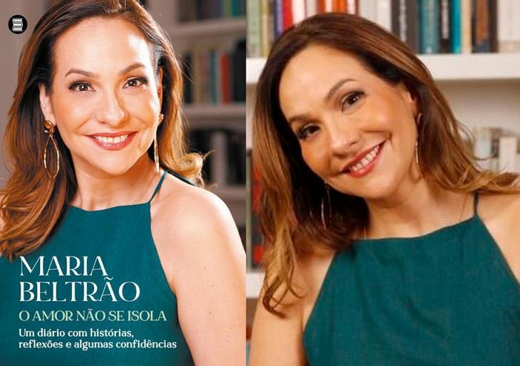 """Com cobertura da Covid-19, Maria Beltrão confessa: """"Cheguei a ficar deprimida"""""""
