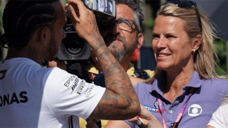 Repórter Mariana Becker, da Globo, ganha homenagem e chora ao vivo