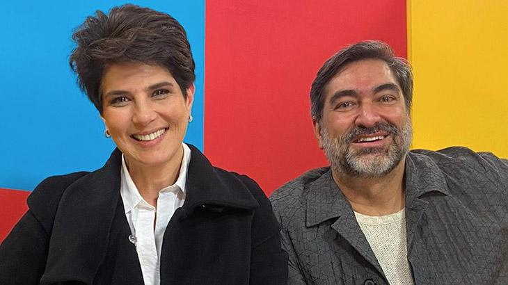 Mariana Godoy e Zeca Camargo
