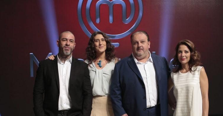 Apresentadora e jurados do MasterChef Brasil