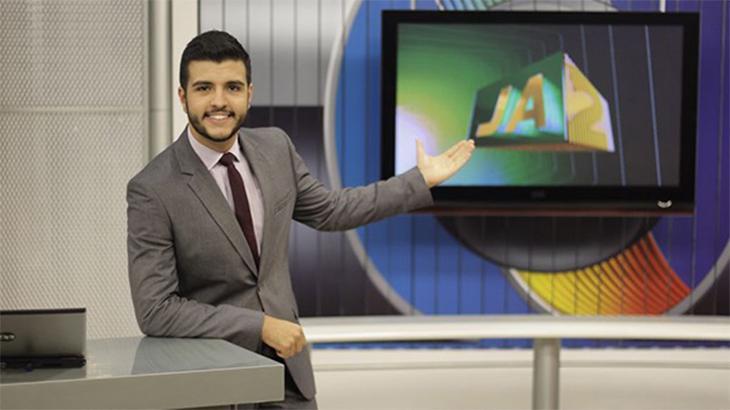 Âncora Matheus Ribeiro, da TV Anhanguera