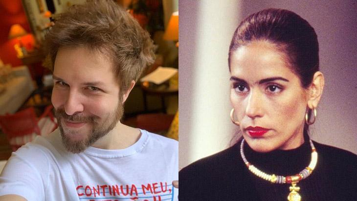 Matheus Porto e Gloria Pires