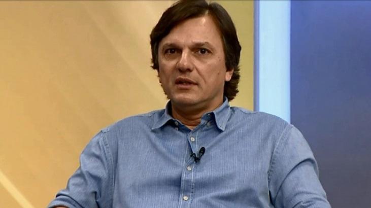 Mauro Cezar Pereira trabalhando na ESPN